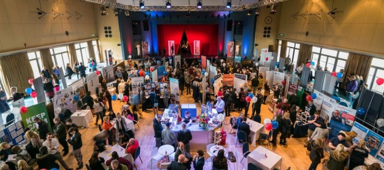 The Inaugral Bexhill Jobs & Apprenticeships Fair in full flow