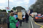 Hurst Green A21 protest