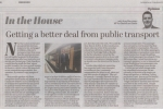 Getting a better deal from public transport - Observer article