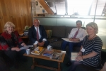 Meeting with Nadhim Zahawi and Cheryl GIllan